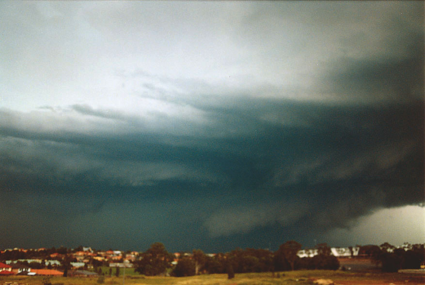Hp Supercell And Possible Tornado Sydney Wednesday 2nd