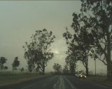 Supercells and Microburst South West Slopes - NSW : November 21 2003
